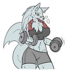 Workout by RakkuGuy