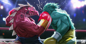 Krock Da ultimate fighter by Messiah972