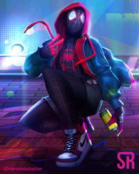 Miles morales by Messiah972