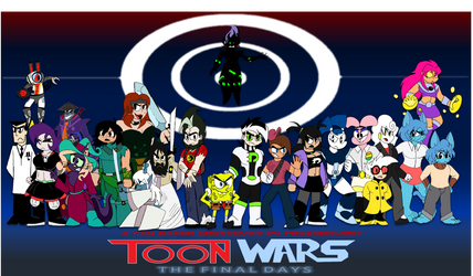 Toon Wars The Final Days Alternate Cover by Frozarburst