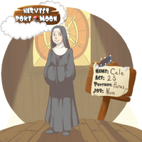 HPM: Sister Cele by ElfSama