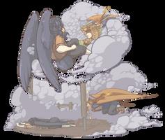 HPM: Fighting Round 2! by ElfSama