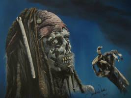 Captain Jack Sparrow by annieoakley64