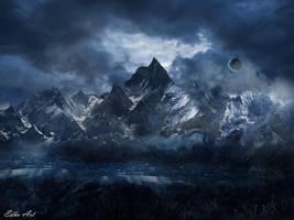Dark mountain. by EdhoART2