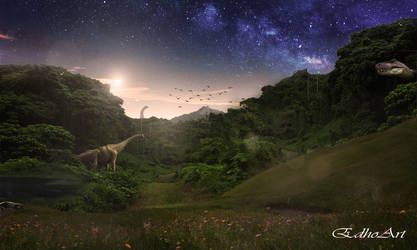 The age of dinosaurs by EdhoART2