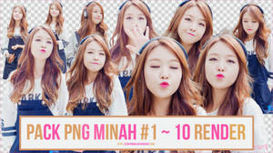 PACK PNG MINAH #1 ~ 10 RENDER by CeByun688