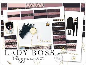 Lady Boss Blogger Kit by iCatchUrDream