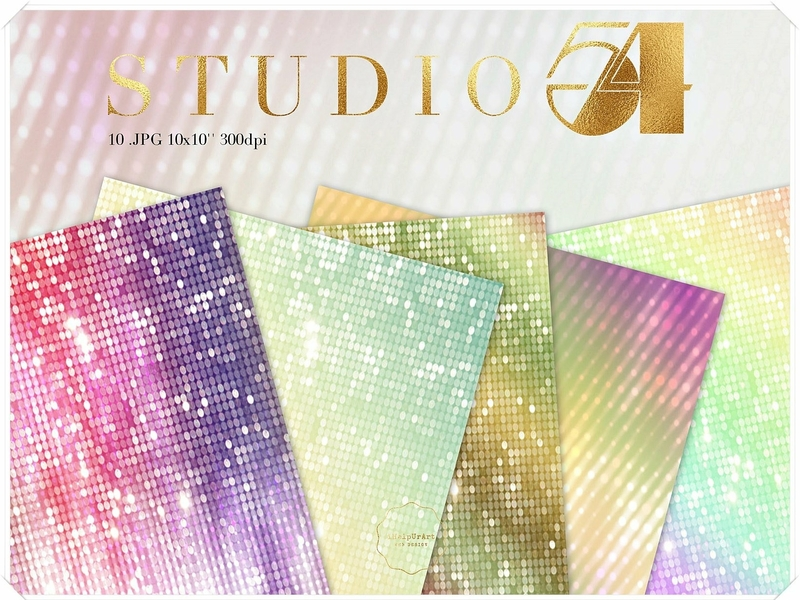 Studio 54 inspired textures pack by iCatchUrDream
