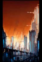 cityscape 2 by TheUncannyKen