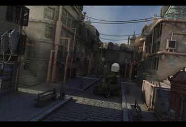 Steam Ghetto W.I.P. by TheUncannyKen