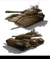 Tank 5 by TheUncannyKen