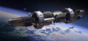 Starship by TheUncannyKen