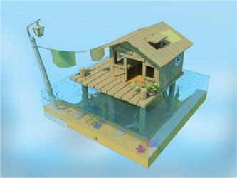 SeaHouse 80 by ariazake