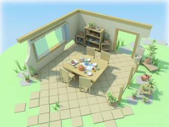 Table Stuff by ariazake