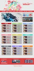 Web-Design  Yatta Fanzine by PM-ForeverArts