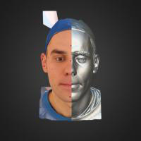 3-866416-3D Scan - Tomas Mayer Levi - 10 - M by HumanAnatomy4Artist