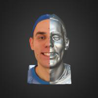 3-866410-3D Scan - Tomas Mayer Levi - 04 - Smile T by HumanAnatomy4Artist