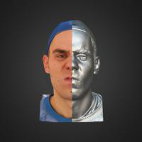 3-866409-3D Scan - Tomas Mayer Levi - 05 - Angry by HumanAnatomy4Artist