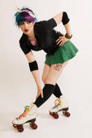 Roller girl by Alphie-LaFray