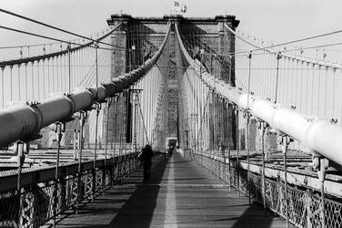brooklyn bridge by lafiglia