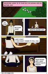 The Jin Saga CV2 Chapter 1 - Page 1 by SonKitty