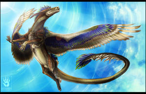 Winged Grace by DemonML