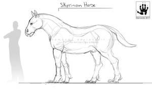 Skyrinian Horse 2017 by DemonML