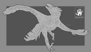 Rhea the Raptor by DemonML