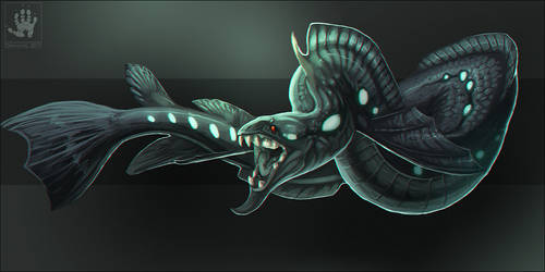 Guillotine Eel by DemonML