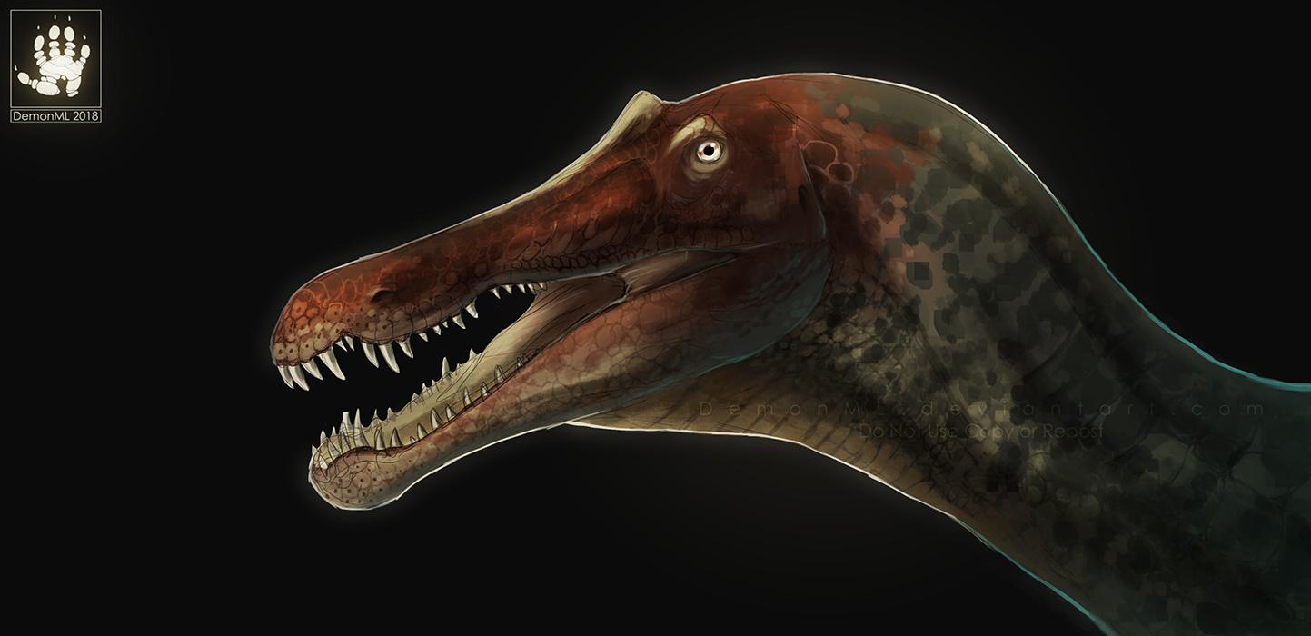 Suchomimus by DemonML