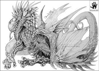 Thorndrake by DemonML