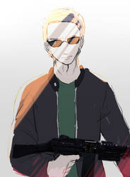 Requested PUBG OC Kervin By s888403 by Ratwo619