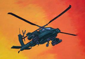 Mural final Apache by Naiyion