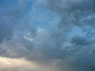 blue storm clouds 1 by Naiyion