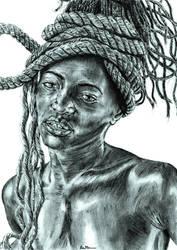 My African Lady by BenHeine
