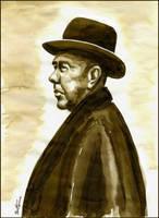Rene Magritte by BenHeine