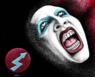 Marilyn Manson  - 1 - by BenHeine