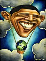 Barack Obama, Save Our Planet by BenHeine