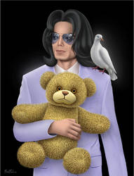 Michael Jackson, Eternal Child by BenHeine