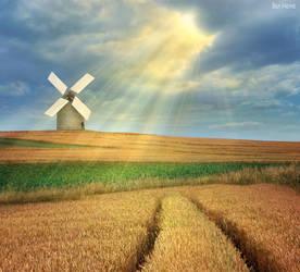 The Magic Windmill by BenHeine