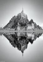 Mont Saint Michel - 2 by BenHeine