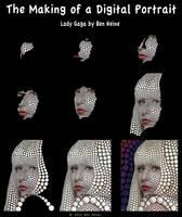 Making of - Lady Gaga by BenHeine