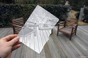 Pencil Vs Camera - 1 by BenHeine