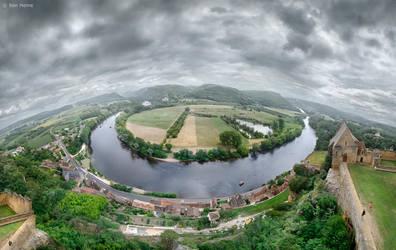 Dordogne River by BenHeine