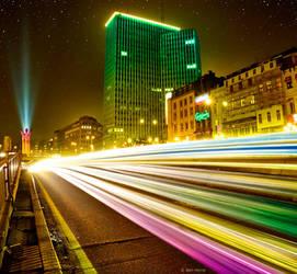 Brussels by Night by BenHeine