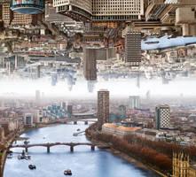 London - Double Landscape by BenHeine