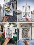 Challenge in Lisbon with the Samsung Note 10.1 by BenHeine