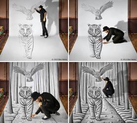 Sketch in Progress - Pencil Vs Camera - 74 by BenHeine