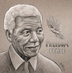 Nelson Mandela - RIP by BenHeine