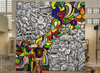 Magic City - Ben Heine Art by BenHeine
